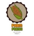 Farm fresh graphic design vector image