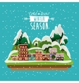winter season design vector image