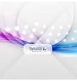 Blurred wave modern design vector image vector image