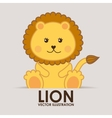 lion design vector image vector image