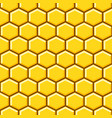 honeycomb pattern cells background vector image