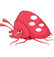 Funny Bug Cartoon Character vector image vector image
