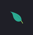 leaves computer symbol vector image