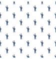 policeman pattern vector image