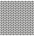 Tile black and white knitting pattern background vector image vector image