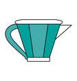 kettle tea time icon image vector image