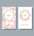 lotus flower banners vector image