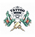 Tattoo Print 3 vector image