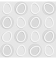 Abstract pattern in light grey colors vector image vector image