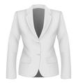 Ladies suit jacket vector image