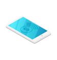 smartphone device isometric 3d icon vector image