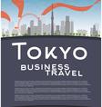 Tokyo vector image