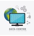 Data base design vector image
