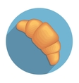 Croissant icon vector image