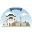 Belgrade vector image vector image