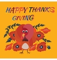 a Happy Thanksgiving vector image