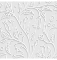 Abstract pattern in light grey colors vector image