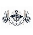 Tattoo Print 4 vector image