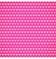 Pink fabric texture with heart seamless pattern vector image