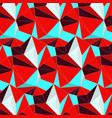 simple bright mosaic pattern abstract vector image