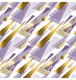 Xmas seamless triangle modern pattern violet color vector image vector image
