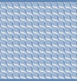 blue abstract wavy 3d-like background vector image