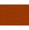 Brown bricks seamless pattern vector image