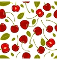 Seamless pattern of hand-drawing various juicy vector image