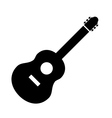 Guitar sign icon vector image