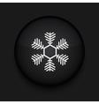 Snowflake icon Eps10 Easy to edit vector image