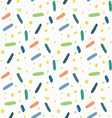 Cute and colorful background vector image