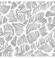 Seamless pattern with hand drawn pen or pencil vector image vector image