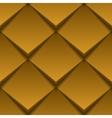 Brown tile seamless texture vector image