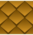 Brown tile seamless texture vector image