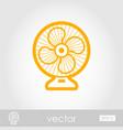 ventilator outline icon summer vacation vector image