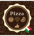 Pizza Packaging Design vector image