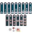 Insignia of the Federal Tax Service of Russia vector image vector image