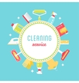 Cleaning Service Sign vector image