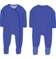 baby boy sleep suit vector image