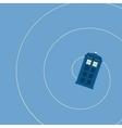 british police box vector image
