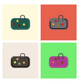 pebble bag collection vector image vector image