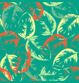 seamless texture pattern of leaves vector image