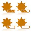 Solar power vector image vector image