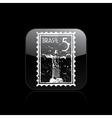 brazil icon vector image vector image