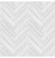 White Herringbone Parquet Floor Seamless Pattern vector image