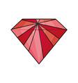 diamond luxury jewrly vector image