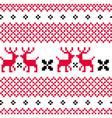 Norwegian ornamental Christmas pattern vector image vector image