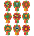 mexican rosettes vector image vector image