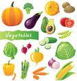 GREAT vegetables set vector image