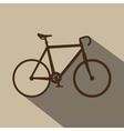 ride bike design vector image